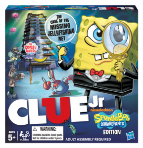 CLUE Jr SpongeBob SquarePants Edition