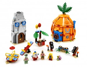 Lego Bikini Bottom Undersea Party
