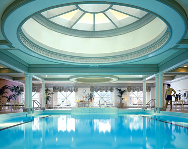 Kid friendly getaway at the four seasons hotel chicago - Pools in chicago ...