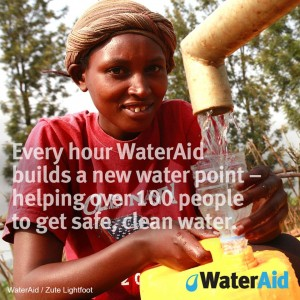 Wateraid World Water Day