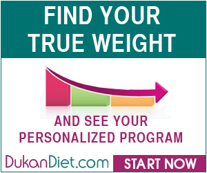 Dukan Diet Find True Weight