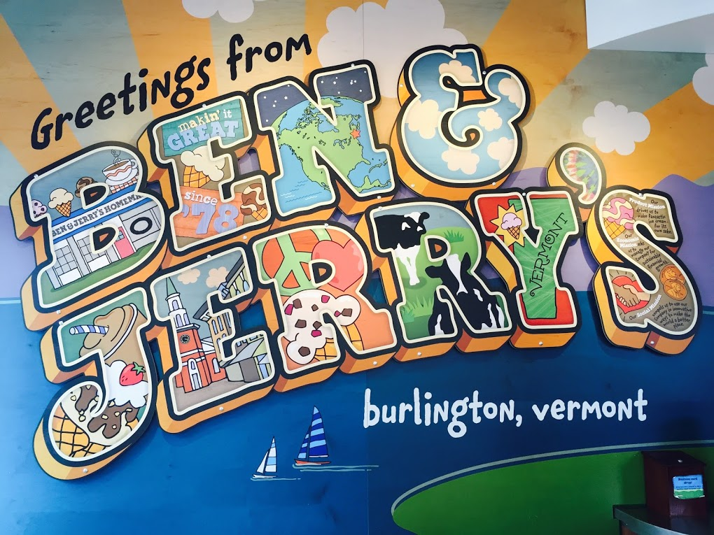 Ben and Jerrys Burlington Vermont