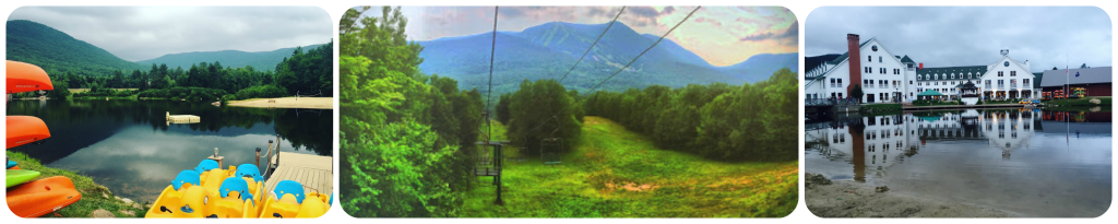 Waterville Valley Resort in New Hampshire's White Mountains Collage